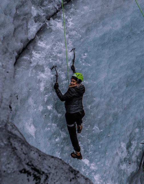 Sólheima-Ice-climbing