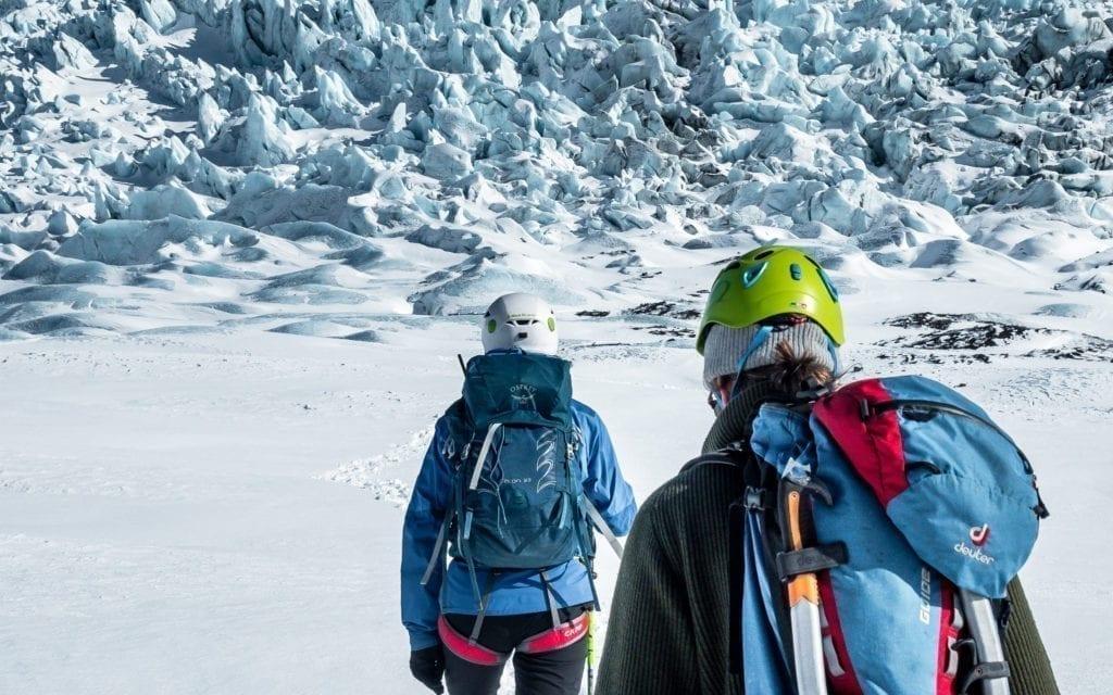 Skaftafell Blue Ice Winter