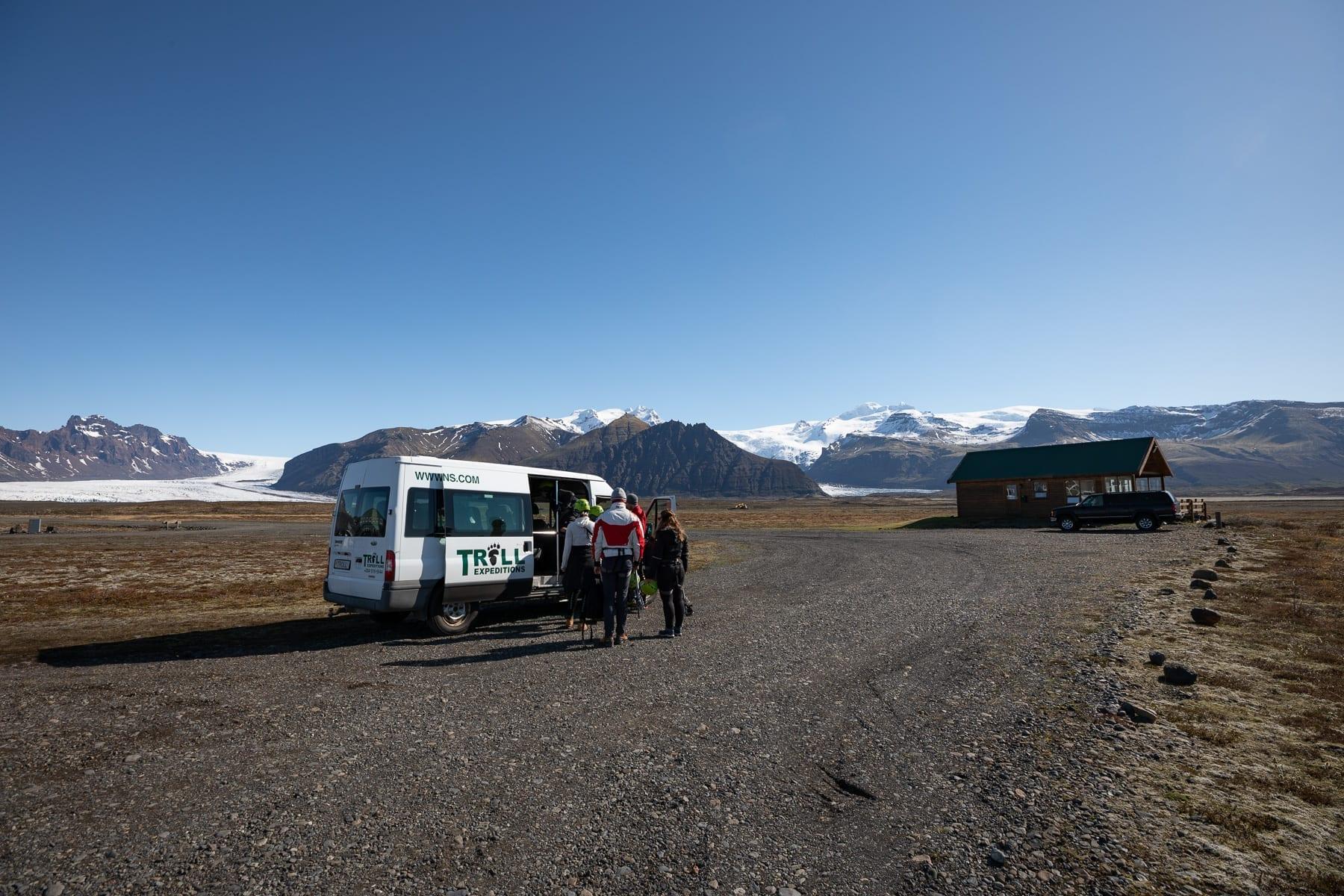 skaftafell-buss