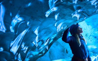 The Ice Caves of Vatnajökull Glacier